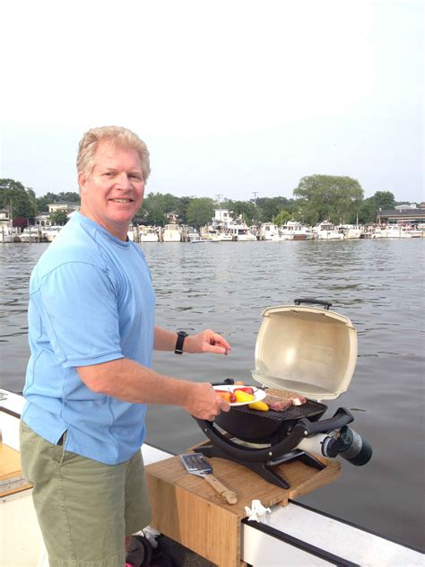 Boat And Grill by I Finally Bought A Grill For The Boat What Does Everyone