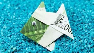 Geldfrosch Basteln Anleitung : origami fisch geldschein my blog ~ Lizthompson.info Haus und Dekorationen