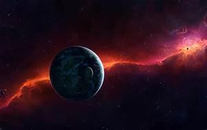 Wallpaper Planets  Cosmos  Galaxy  4k  Space   6351