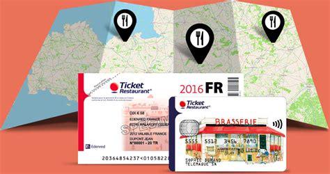 Carte Titre Restaurant Obligatoire by Carte Ticket Restaurant