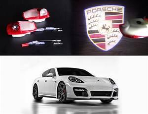 Hot  Porsche Panamera Door Projection Shadow Courtesy