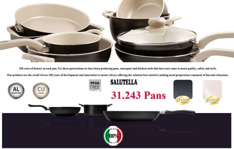 pans pots italy europe stocklot offers