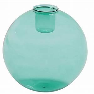 Bougeoir En Verre : bougeoir en verre teint vert bubble pop maisons du monde ~ Teatrodelosmanantiales.com Idées de Décoration