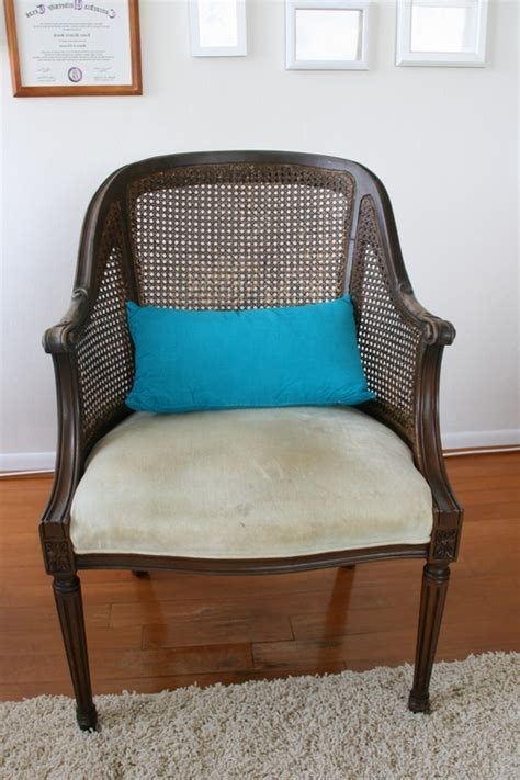 reupholster a chair diy