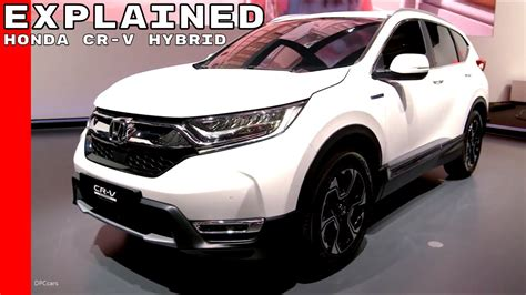 2018 Honda Cr-v Hybrid Prototype Explained