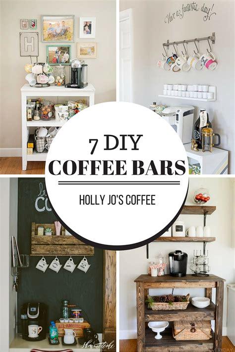 Kitchen Dresser Ideas - 7 cute diy coffee bars holly jo 39 s coffee