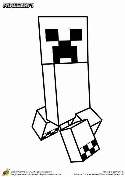 Minecraft Creeper Coloriage Partager Imprimer