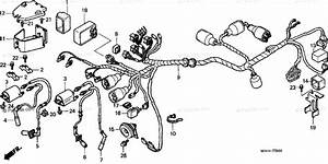 Honda Motorcycle 1998 Oem Parts Diagram For Wire Harness  1