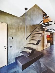 1000 idees sur le theme escalier suspendu sur pinterest With des plans pour maison 7 garde corps escalier design et verriare sur mesure en