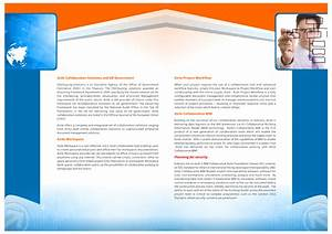 4 page brochure template free professional sample templates With pages brochure templates free