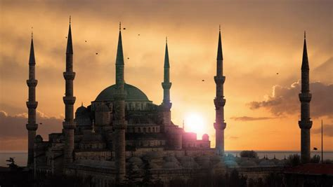 Blue Mosque Wallpaper 4k by Stock Of The Blue Mosque Sultanahmet During Sunset