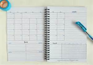 Bullet Journal Template Monthly