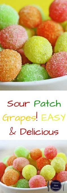 Frozen Grapes Covered With Jello Tastes Like Candy When