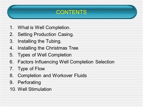christmas tree gas well ppt chapter 6 well completion stimulation ppt