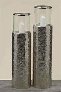 Laterne Silber Groß : boden windlicht clariss kerzenhalter aluminium silber ~ A.2002-acura-tl-radio.info Haus und Dekorationen