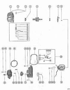 Mercury Marine 400 Magneto Assembly Parts