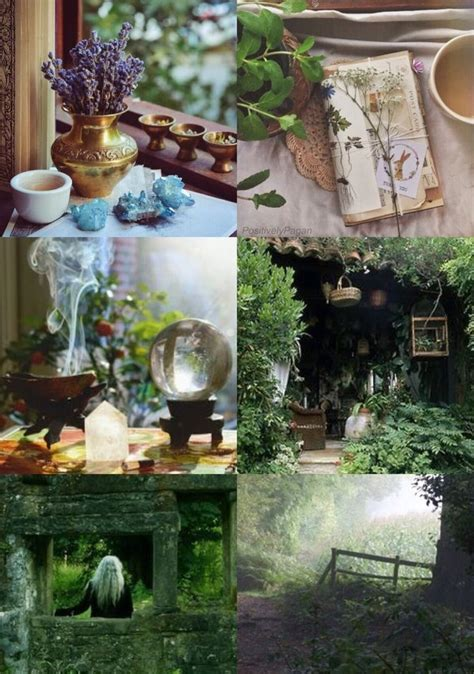 positivelypagan cottage witch aesthetic witchs