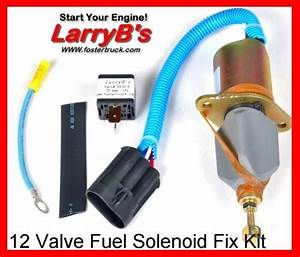 2 2 Fuel Shutdown Shut Off Solenoid Fix Kit With