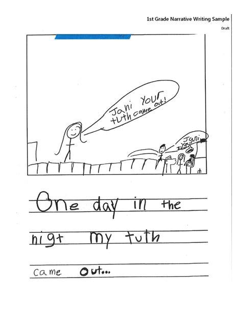 1st Thru 3rd Grade Narrative Writing Examples 2014 By Sabrina Bardonille Issuu