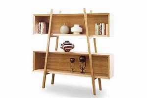 étagère Bibliothèque Bois : etag re vintage scandinave en bois arlas dewarens ~ Teatrodelosmanantiales.com Idées de Décoration