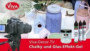 Chic Und Mit : shabby chic in der k che mit chalky und glas effekt gel youtube ~ Orissabook.com Haus und Dekorationen