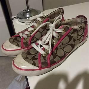 50% off Coach Shoes - Pink Coach Barrett Sneakers women's ...