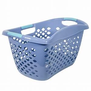 Home, Logic, Hip, Grip, Laundry, Basket, Large, 1, 8, Bu, Hip, Hugging, Basket, Multiple, Colors