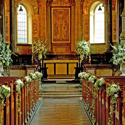 altar wedding decor flowers for church like the draping i do Church