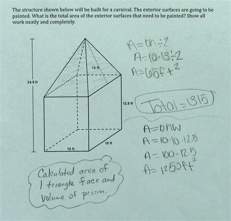 area of composite figures worksheet 7th grade answers