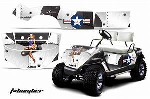Designer Graphic Wraps By Golf Cart Names