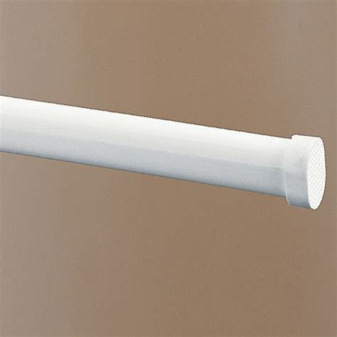 white oval spring tension rod altmeyers bedbathhome