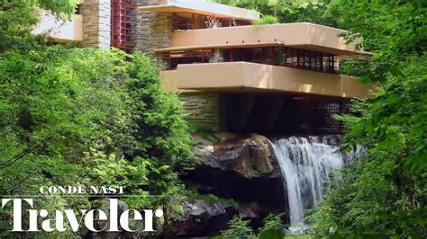 house plans free inside frank lloyd wright s iconic fallingwater house