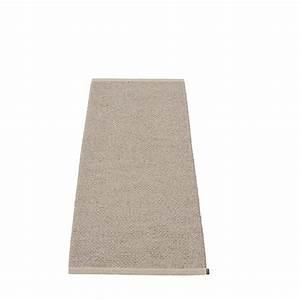 pappelina svea teppich mud metallic viele grossen 60 cm With balkon teppich mit tapete metallic effekt