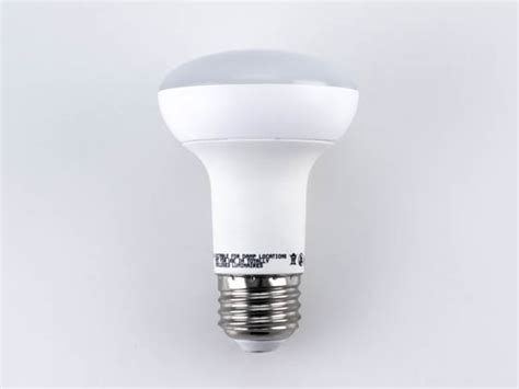 lighting science dimmable 8w 90 cri 5000k r20 led bulb