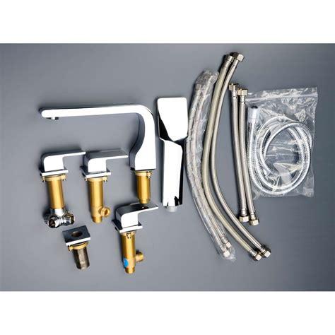 5 Tub Faucet by Buy Cbi Oceanus Chrome Deck Mount 5 Tub Shower