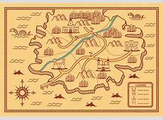 Ancient map vector Download Free Vector Art, Stock