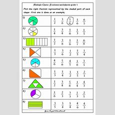 17 Best Ideas About Fractions Worksheets On Pinterest  Second Grade Math, Math Fractions