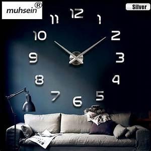 2016 Nouvelle Maison Dcoration Horloge Murale Grand