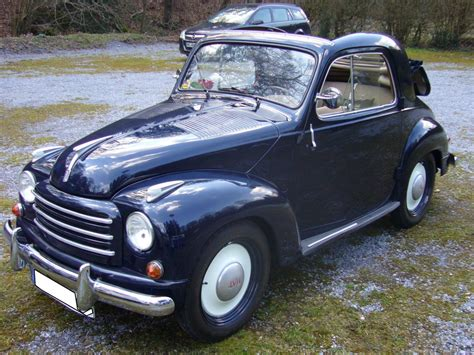 Fiat 500c Topolino 1949 1955 Vorgestellt Wurde Der