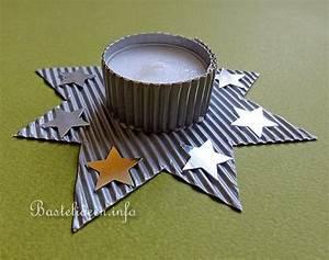 Teelichter Basteln Weihnachten : basteln zu weihnachten mit kindern stern teelichthalter ~ Frokenaadalensverden.com Haus und Dekorationen