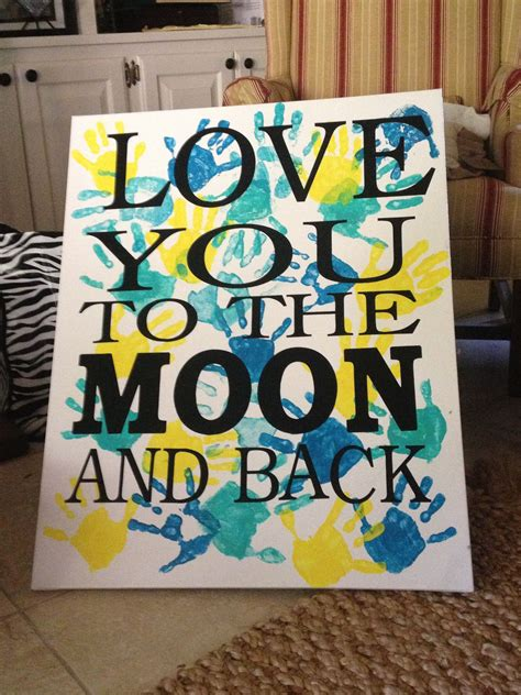 mothers day canvashandprints    kids