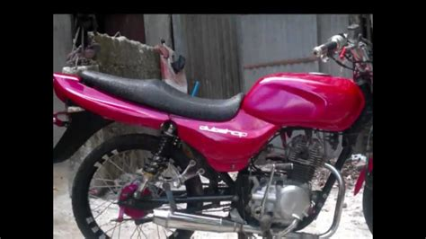 bajaj ct100 modified by jomar of aklan
