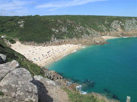 Porthcurno beach - in Cornwall