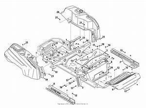 Troy Bilt 17afcacs011 Mustang 42 Xp  2013  Parts Diagram