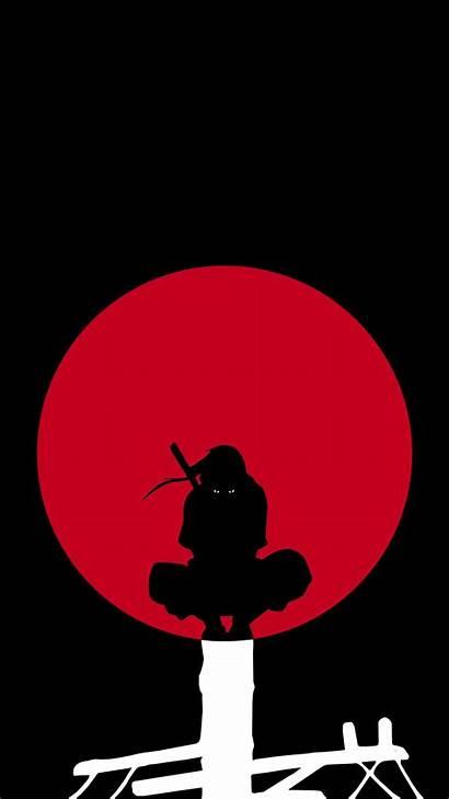 Itachi Naruto Wallpapers Phone Amoled Uchiha Dark