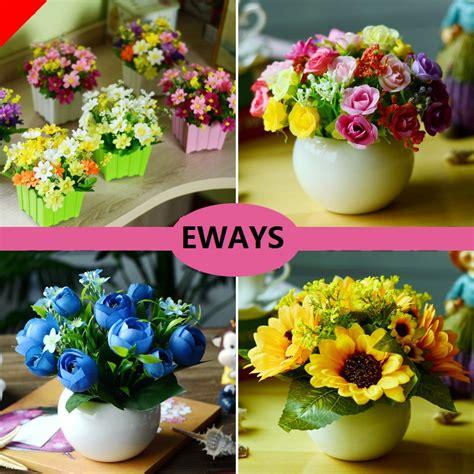 plastic artificial flower flower arrangement fresh green