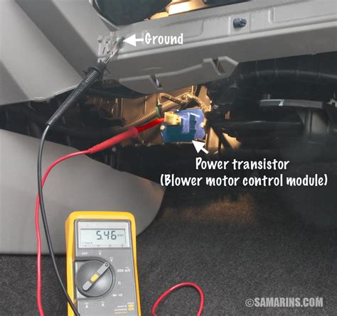 blower motor resistor   works symptoms problems