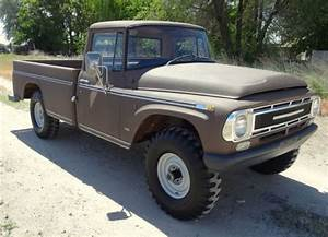 1968 International Pickup 1100  4x4  Rare Survivor  For