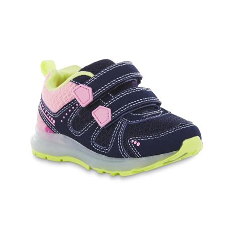 light up tennis shoes s toddler s fury blue pink light up athletic shoe