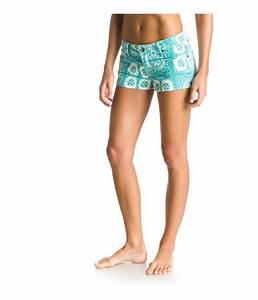 Roxy Womens Forever Print Casual Denim Shorts | eBay